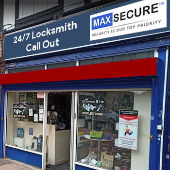 Locksmith store in Whitechapel