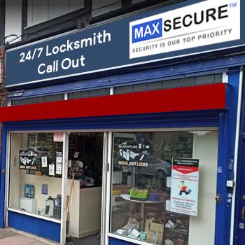 Locksmith store in Whitechapel